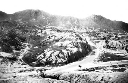 The Kadoorie Estate before site development in the 1930s